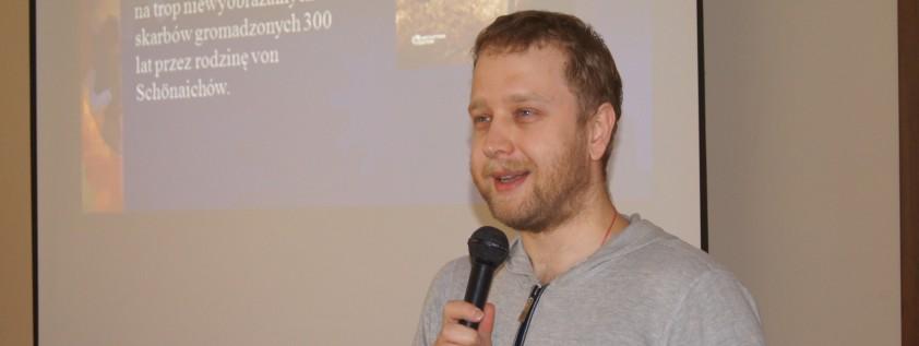Spotkanie z Krzysztofem Koziołkiem