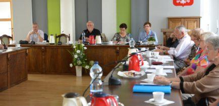 Aktualności - Obornicka Rada Seniorów obradowała