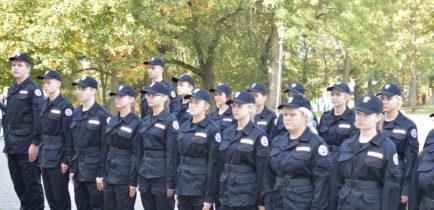 Aktualności - Ślubowanie klasy o profilu policyjnym