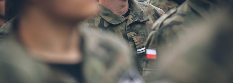 Zakaz wstępu na teren poligonu Biedrusko