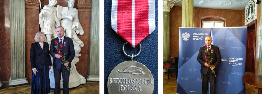 Medal Komisji Edukacji Narodowej dla Adama Malińskiego