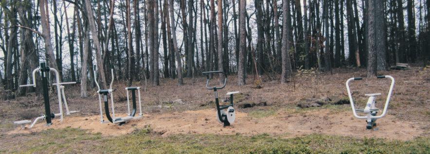 Nowe siłownie zewnętrzne już czekają na mieszkańców wsi