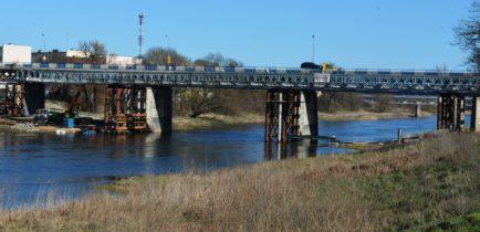 Aktualności - Mostem tymczasowym pojedziemy już w drugim kwartale roku