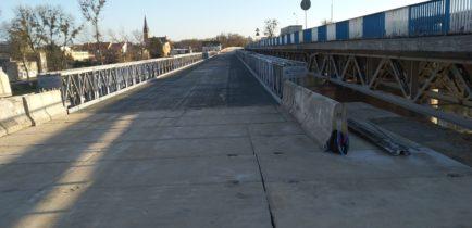 Aktualności - Od wtorku pojedziemy mostem tymczasowym