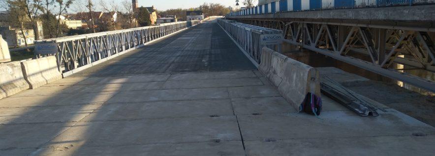 Od wtorku pojedziemy mostem ty