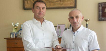 Aktualności - Dariusz Szrama administratorem Dąbrówki Leśnej