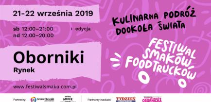 Aktualności - I Festiwal Smaków Food Trucków w Obornikach