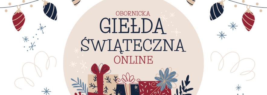 Zapraszamy na Giełdę Świąteczną Online!