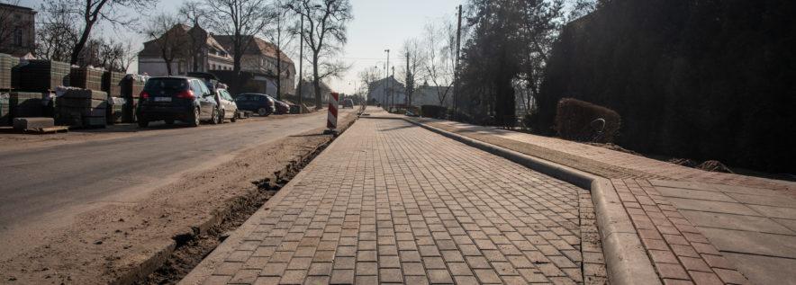 Trwa remont ulicy Szkolnej